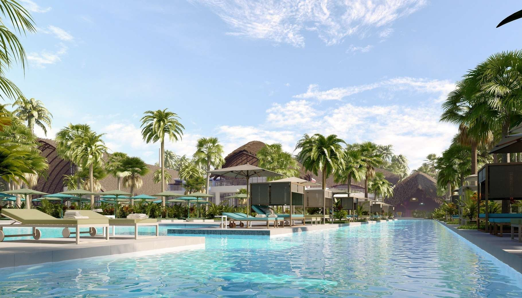 Lifestyle - Pools, sunbeds - Miches Playa Esmeralda